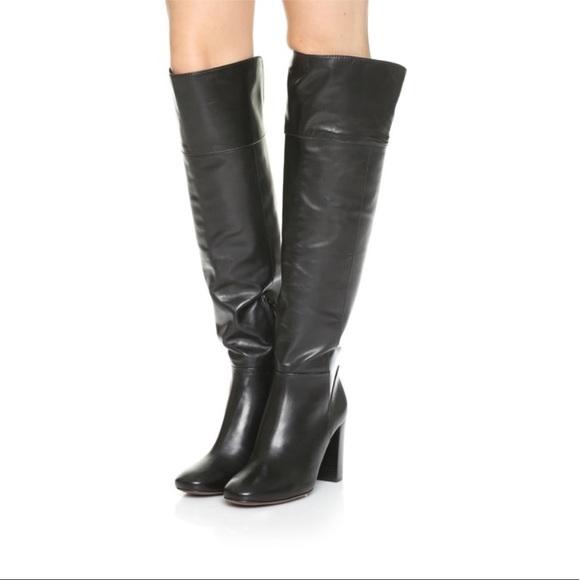 0464c0b761ba Tory Burch Shoes | Bowie Otk Over The Knee Boot Black 6m | Poshmark